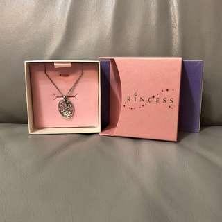 周大福迪士尼公主純銀頸鏈連鏈咀頸(necklace+pendant)