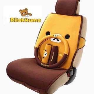 全新 鬆弛熊 Rilakkuma 全車椅套