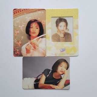 吳倩蓮 3張卡 ( 94 )