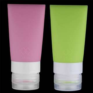 Travel Size Leak Proof Silicone Soap Container Bottle Dispenser