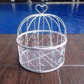 Sangkar burung hiasan dekor birdcage bird cage decor