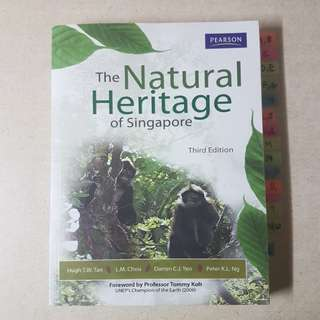 GES1021 NATURAL HERITAGE OF SINGAPORE
