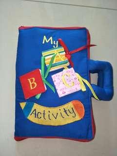 ABC Activity Quiet Book