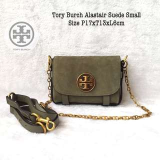 Tory Burch Alastair Suede Small