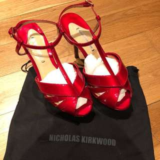 Authentic Nicholas kirkwood designer high heels