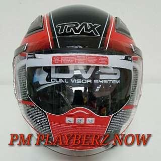 TRAX TRO1 HALF CAP HELMET GRAPHIC..😎!!