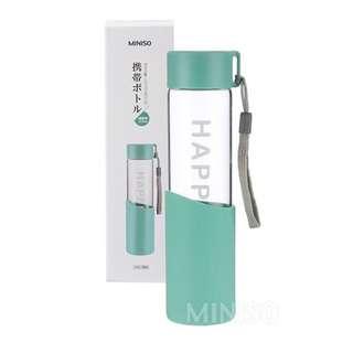 Miniso Happy Water Bottle 370ML