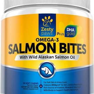 Omega 3 Salmon Bites Doggy Treats