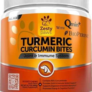 Turmeric Doggy Treats Duck Flavored