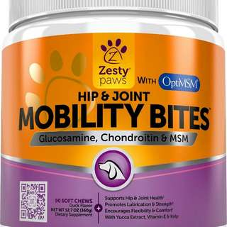 Mobility Doggy Dog Treats Duck Flavor