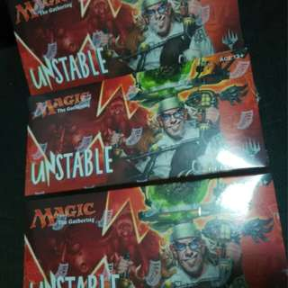 Unstable UST Sealed Boxes (Magic The Gathering MTG)