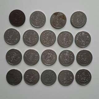 歡樂天地 金幣 19個