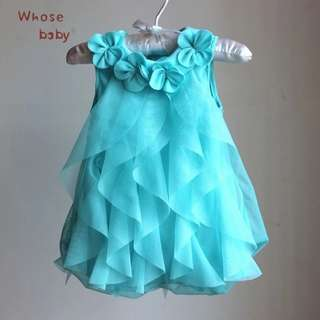Baby Girl chiffon flower dress