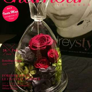情人節必選 Japan Preserved roses 日本保玫瑰