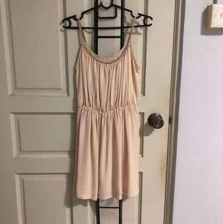 braided pleated MDS dress