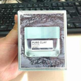 Loreal Loreal Pure Clay Mask - Detoxify (Black) 50g.
