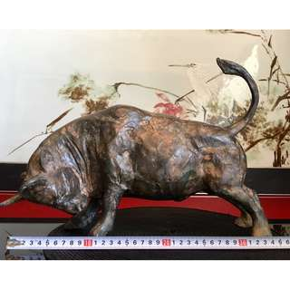 Bronze Fighting Bull