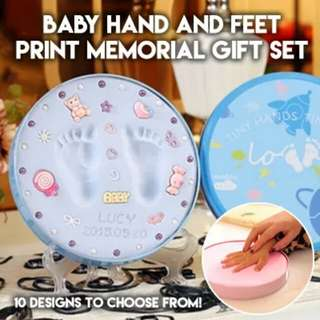 BN FREE DELIVERY Baby Hand Foot Print Mold Casting