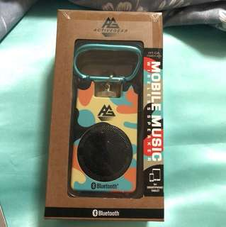 [JAPAN] ACTIVEGEAR Mobile Music Wireless Speaker in CAMOUFLAGE