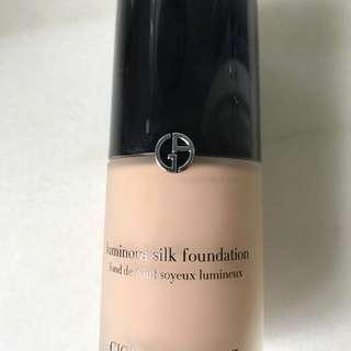 Giorgio Armani Luminous Silk Foundation - shade 5