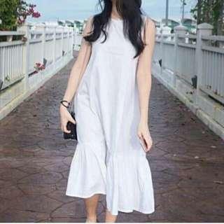 Lolita White Dress