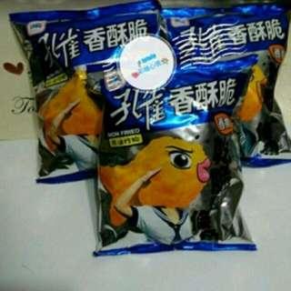 (免運)孔雀香酥脆--香魚(3包)