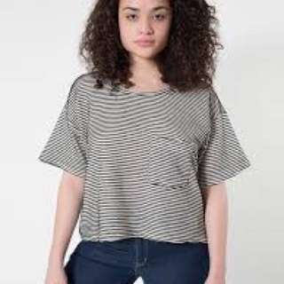 American Apparel Ribbed T-shirt