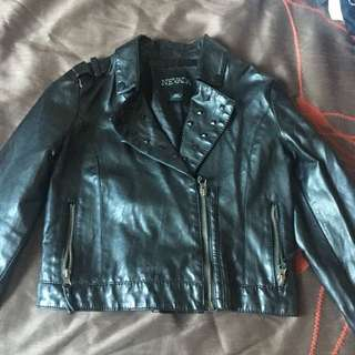 Kids Nevada Leather Jacket