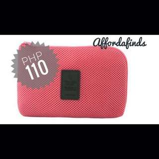 Travel Gadget Pouch Pink