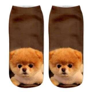 INSTOCK Cute 3D Dog Socks