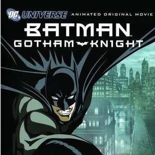 Batman: Gotham Knight - Animated Original Movie