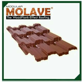 MOLAVE COLORED ROOFING
