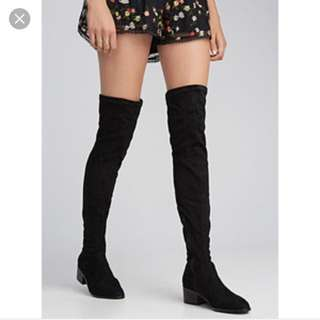 *REDUCE* STEVE MADDEN over the knee boots