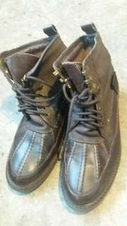 Faux leather boot size 9