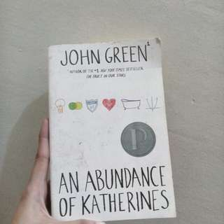 John Green- An abundance of Katherine's
