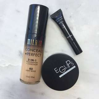 MILANI + CHANEL Makeup Bundle
