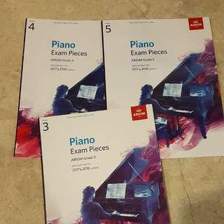 Abrsm piano grade 3 grade 4 grade 5