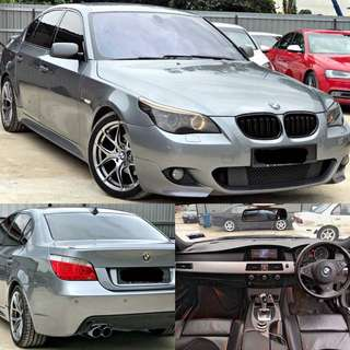 SAMBUNG BAYAR / CONTINUE LOAN   BMW E60 525i MSPORT LCI
