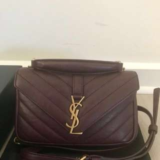 Authentic YSL College WOC Sling Bag