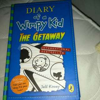 BN Diary Of A Wimpy Kid The Getaway ( Hardcover)
