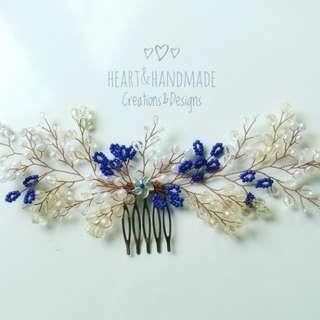 Wedding hair accessories hair vine hair comb hair jewelry