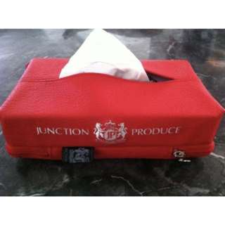 Junction Produce tissue box cover