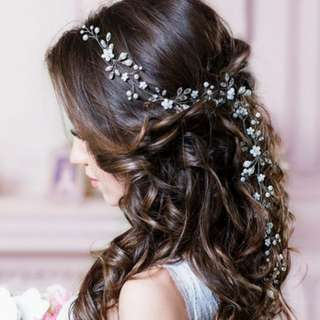 Wedding hair accessories hair vine hair jewelry