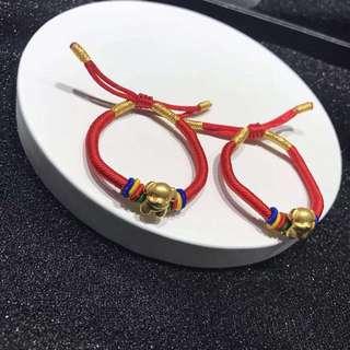 3D硬金手繩(可調節)