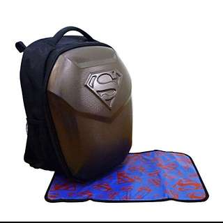 Simple Dimple Superman-Diapers & nursing  Bag (XL) 🆕