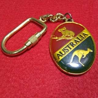 Australia keychain vintage