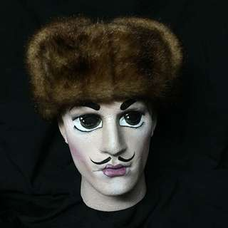 VINTAGE RUSSIAN SPY HAT