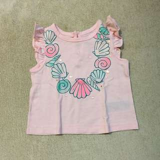 Gap baby top like new 3-6m