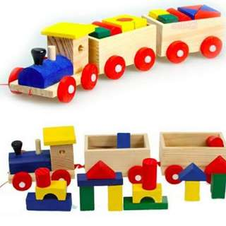 Mini Train Building Blocks