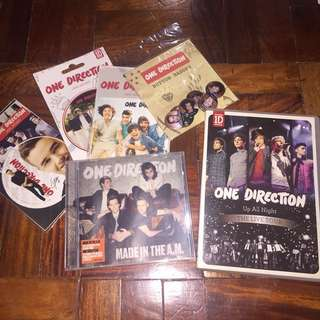 [BUNDLE] ONE DIRECTION ALBUM + STICKERS + DVD (ALBUM AND DVD FOR 250 each)